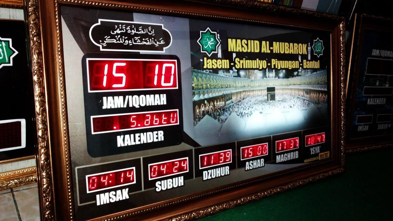 jam masjid jogja