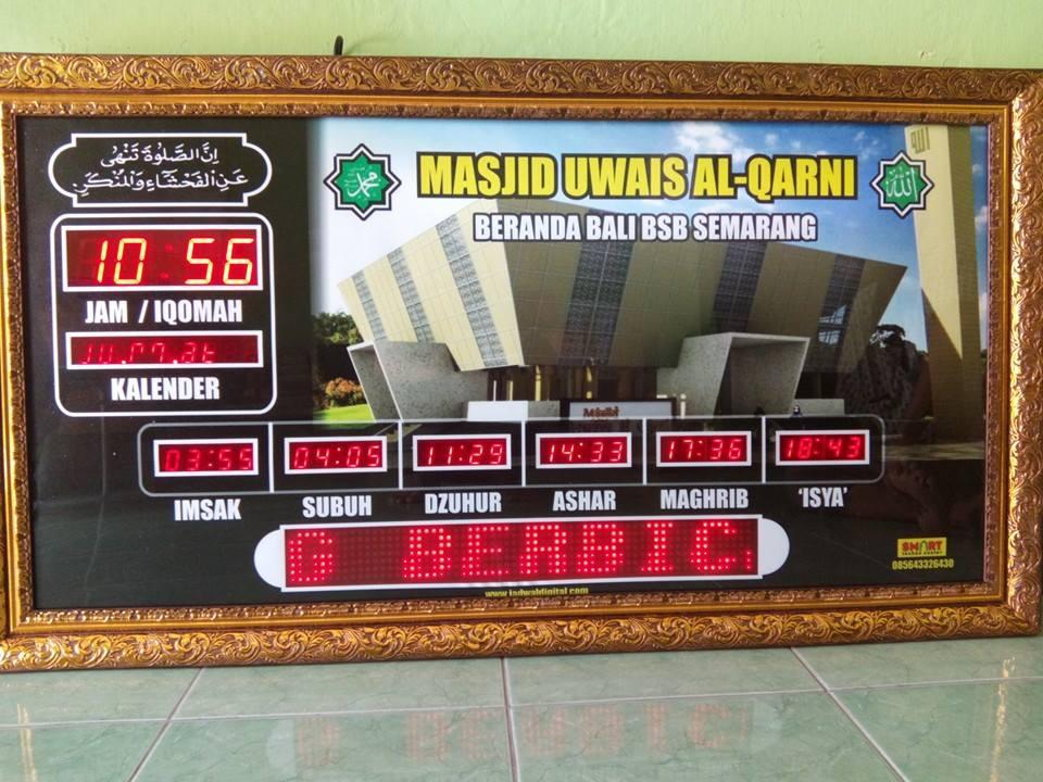 Jadwal Sholat Digital Semarang