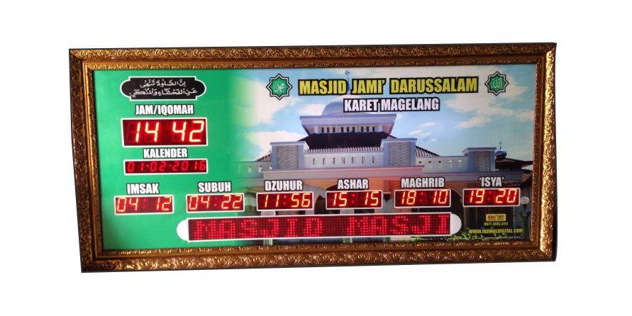 jam digital masjid magelang