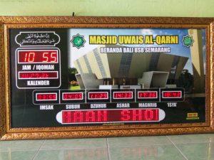 jam digital masjid di semarang