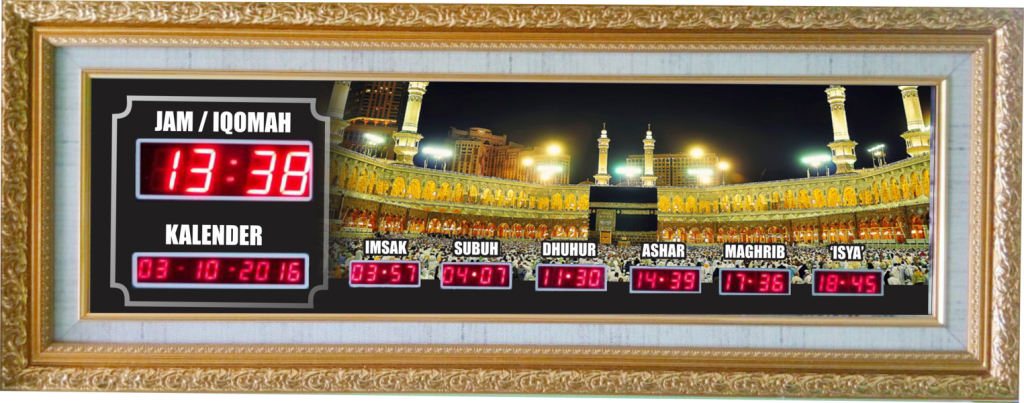 harga jam digital masjid di yogyakarta
